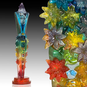 Cast Glass Figures