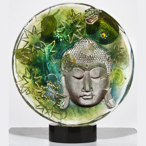 Buddha Disc - Green