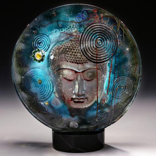Buddha Disc - Silver